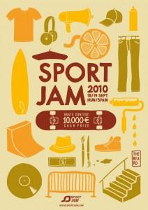 Sport Jam Flyer
